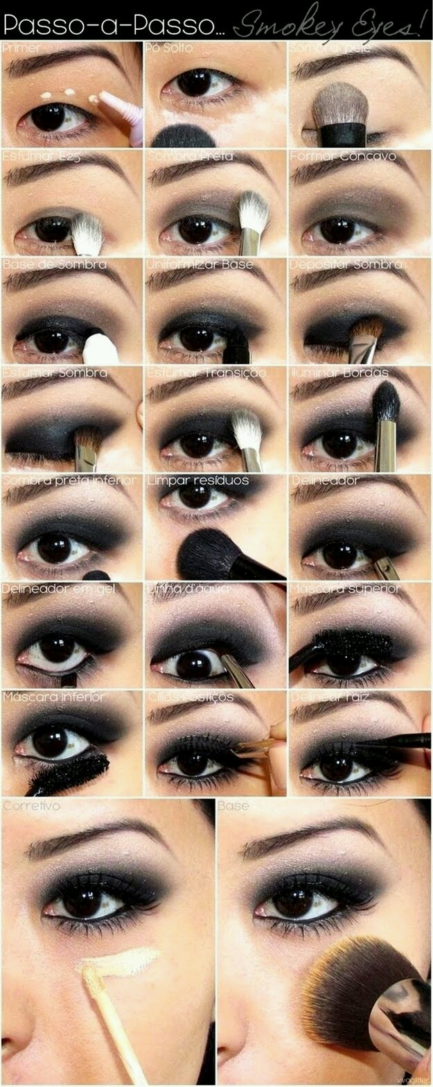 Beauty Party Sevilla Ojos Ahumados Paso A Paso